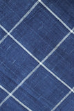 INDIGO YARN DYED CHECKS FABRIC