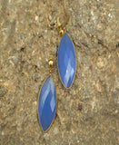 Blue - Natural Stone Earrings