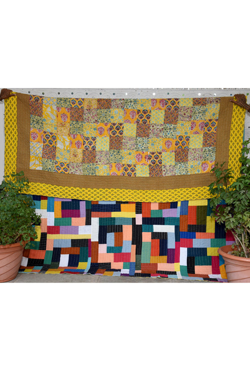 Okhai 'Amaya' Double Bed Quilt-76
