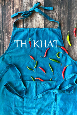 Okhai-'Tikhat'-Hand-Embroidered-Pure-Cotton-Men's-Apron