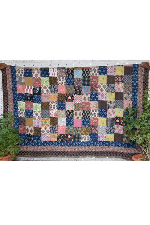 Okhai 'Amaya' Double Bed Quilt-79