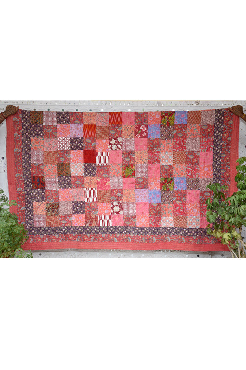 Okhai 'Amaya' Double Bed Quilt-59