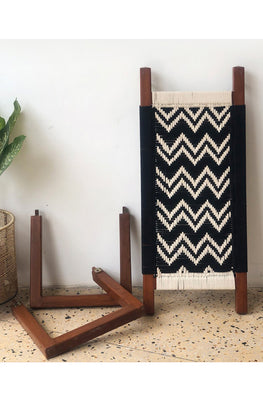 Sirohi's Double Wave wooden bench (charpoy style detachable)