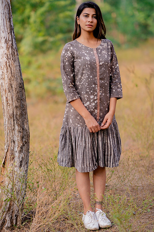 Okhai 'Artist' Cotton Dhabu Dress