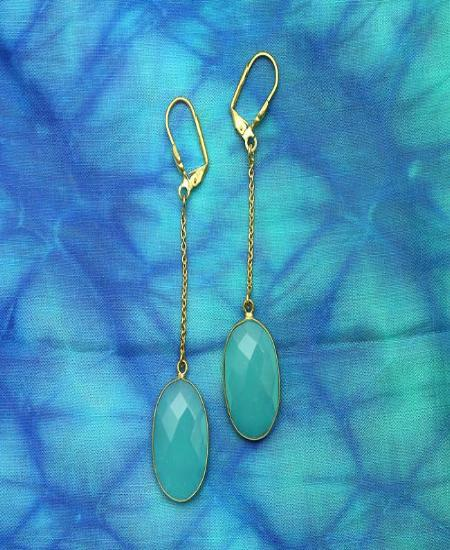Water Drops - Natural Stone Earrings