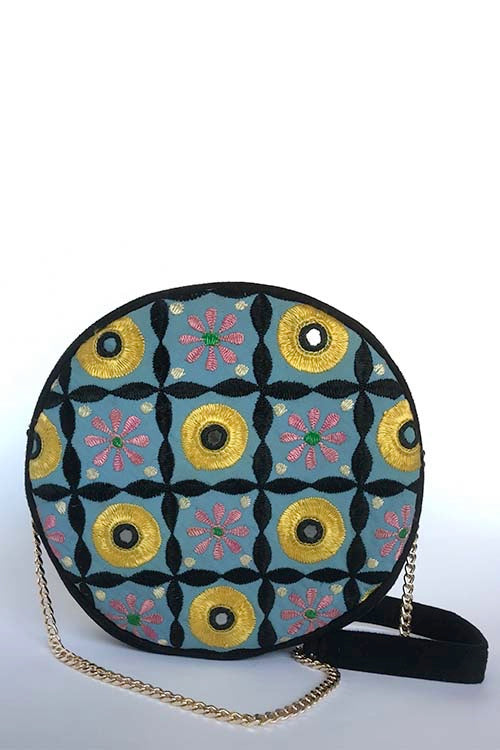 Handcrafted Indian traditional work sling bag