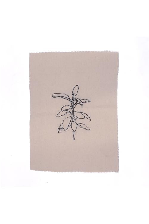 Okhai 'Sea-Fables' Pure Cotton Embroidered Art Piece