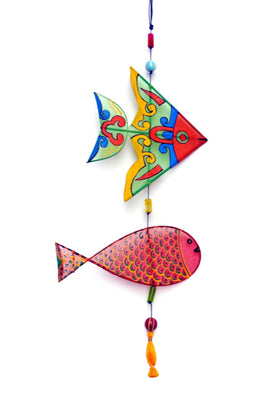 POTLI Handmade Fishes wall hanging (2)