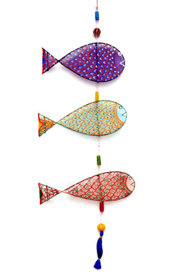 POTLI Handmade Fishes wall hanging (3)