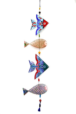 POTLI Handmade Fishes wall hanging (4)