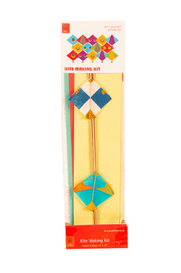 POTLI Handmade Kite Making Craft Kit ( Makes 3 kites) for all ages
