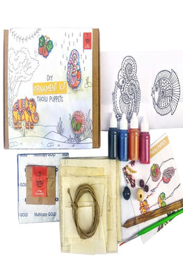 POTLI DIY Ornament kit - Handmade Tholu Traditional Puppets - For 8 yrs - 80 yrs
