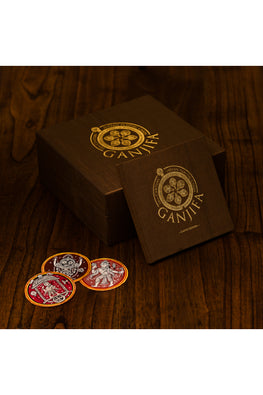 POTLI Handmade Ganjifa Playing Cards ( Dashavatar set of 120 cards)