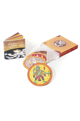 POTLI Handmade Ganjifa Cards Online Abridged Set Of 5 Ganjifa Game Cards