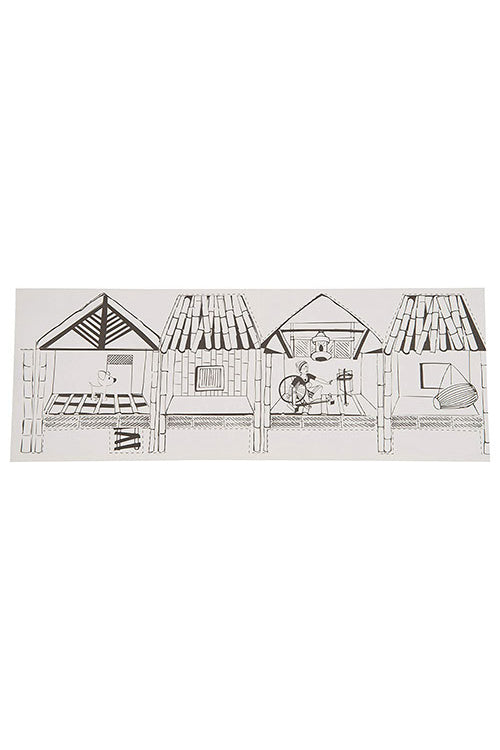 Educational Colouring Kit Forour Young Architects DIY kit  (Ikra Houses of Assam)