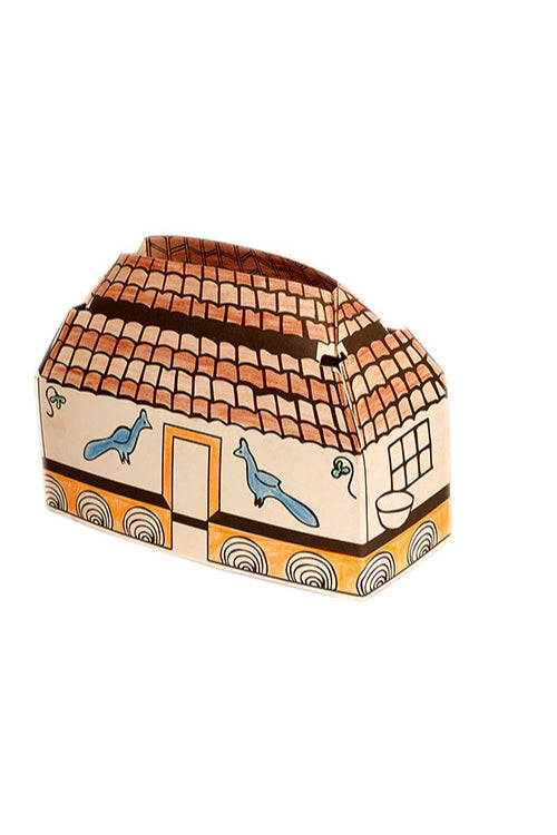 Educational Colouring Kit For our Young Architects DIY kit  (Mud Huts of Jharkhand)