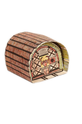 Educational Colouring Kit For our Young Architects DIY kit (Toda Huts of Tamil Nadu)