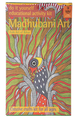 DIY Colouring Kit - Madhubani