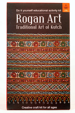 Potli DIY Educational Colouring Kit - Rogan Art of Kutch For Young Artists (5 Years+)