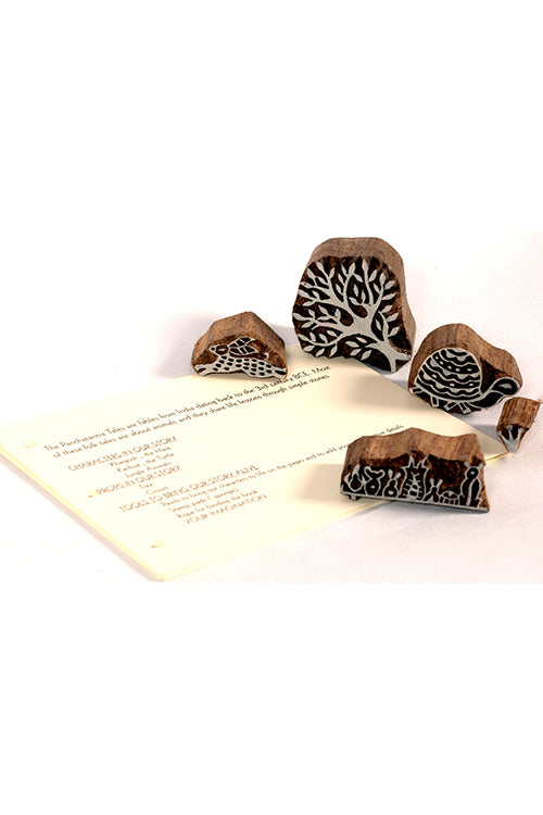 DIY Panchatantra Block Print Kit - Tortoise & the Hare