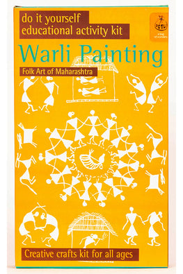 DIY Colouring Kit - Warli