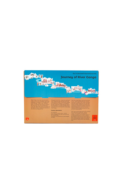 Educational Colouring Kit  Learning Activity about Rivers Of India (River Ganga)