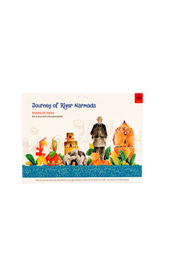 Educational Colouring Kit Learning Activity about Rivers Of India (River Narmada)