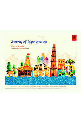 Educational Colouring Kit Learning Activity about Rivers Of India (River Yamuna)