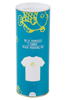 DIY T Shirt Block Print Kit - Fish