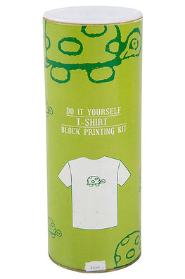 DIY T Shirt Block Print Kit - Turtle