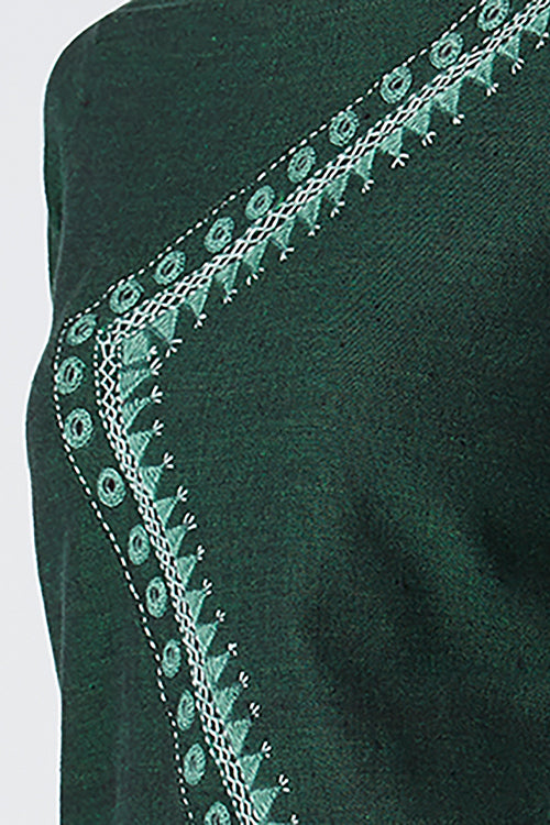 Okhai 'Aranya' Embroidered Cotton Kurta