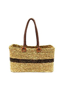 Handmade Sabai Grass Vegetable Bag (Natural)
