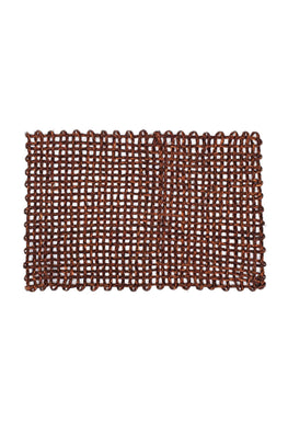 Handmade Sabai Grass Table Mat (Brown)