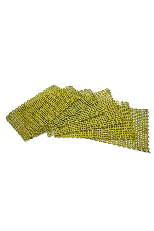 Handmade Sabai Grass Table Mat (Green)