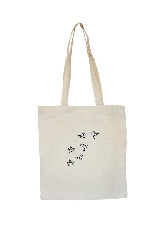 Okhai 'Origami' Pure Cotton Tote Bag