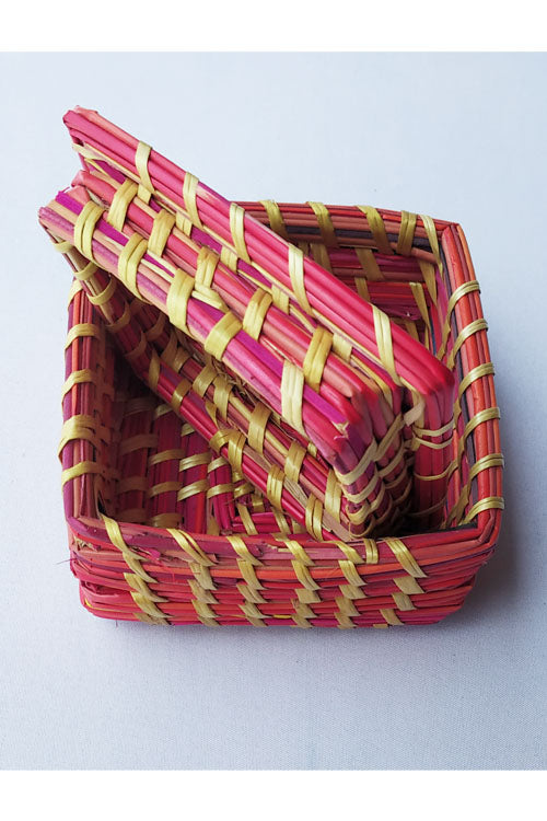 Handcrafted-Sikki-grass-Square-Box-2