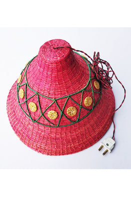Handcrafted-Sikki-grass-Lamp