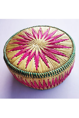 Handcrafted-Sikki-grass-Roti-Box