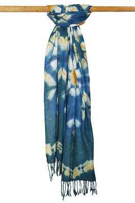 Creative Bee 'BIMB' Natural Dye Shibori Cotton Stole