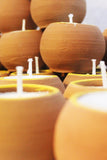 "Craftlipi Terracotta ""BALL"" CANDLES (Set Of 50)"