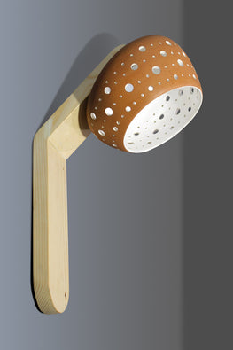 Craftlipi BLOOM Handcrafted Terracotta Wall Lamp Online
