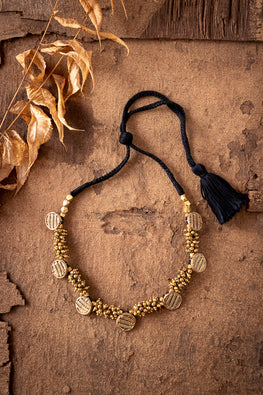 Miharu Dhokra Coated Choker CD1955