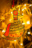 Studio Moya  'Jingle All The Way' Leather Puppetry X-Mas Tree Decoration