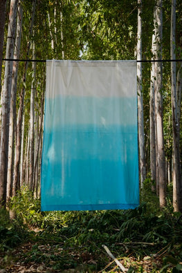 Okhai 'Flurry' Pure Cotton Ombré Curtain