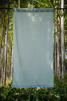 Okhai 'Gale' Pure Cotton Curtain