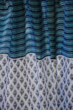Okhai 'Whisk' Pure Cotton Handblock Printed Curtain