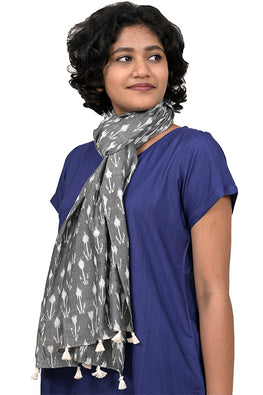 Creative Bee 'POT' Safe Dye Ikat Cotton Stole