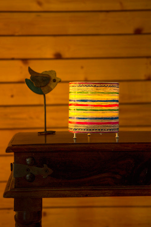 Studio Moya-CYLINDER TEALIGHT -STRIPES