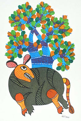 Chhoti Tekam Traditional Gond Art-68