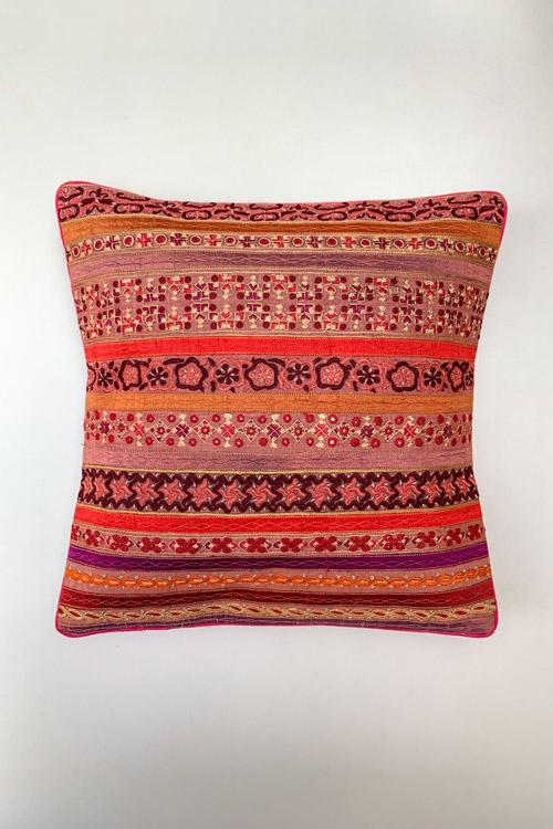 Shrujan Mix Embroidery Cushion Cover